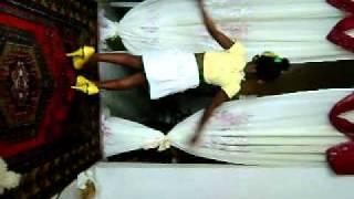 Angel dancing to Heels by Timberlee