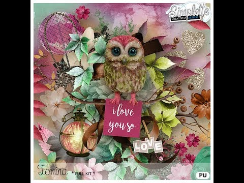 Femina | digiscrap kit