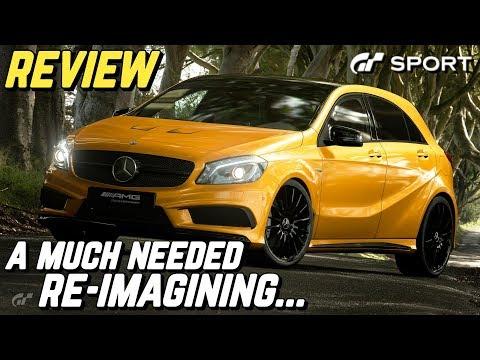 GT SPORT - Mercedes-Benz A45 AMG REVIEW