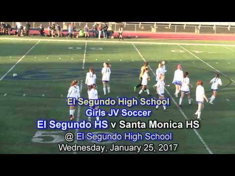 El Segundo High School GJV Soccer, El Segundo HS v Santa Monica HS, January 25, 2017