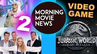 Mamma Mia 2 with Cher, Jurassic World Evolution game good for Jurassic World 2?