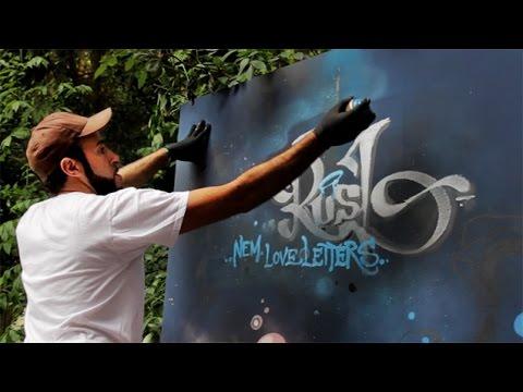 Graffiti: Rusl (Loveletters) & Jones (HTMN) - Atelier - CHTV