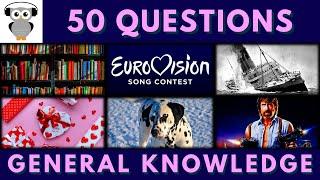 General Knowledge Quiz #28 | Trivia 50 Questions | Do You Know | Pub Quiz