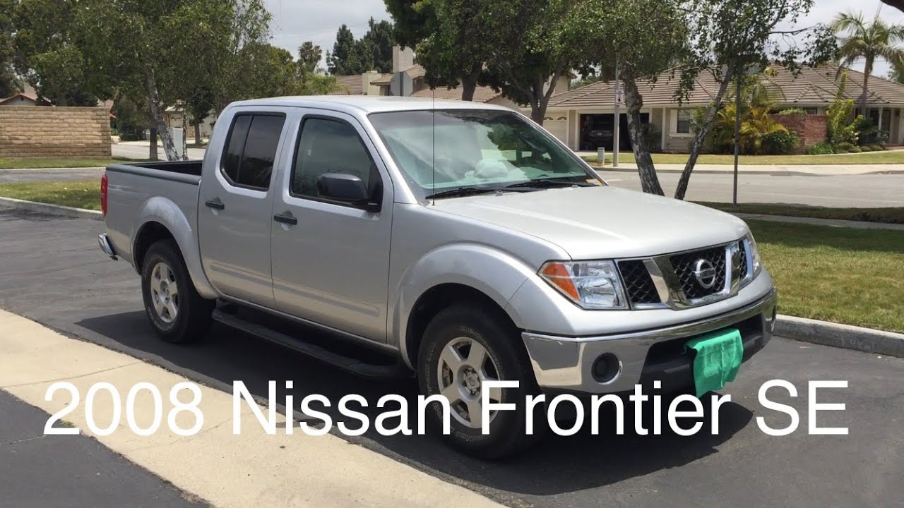 2008 nissan frontier se 4x2 crew cab youtube. Black Bedroom Furniture Sets. Home Design Ideas