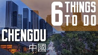 6 Things to do in Chengdu 成都 | China Travel Vlog