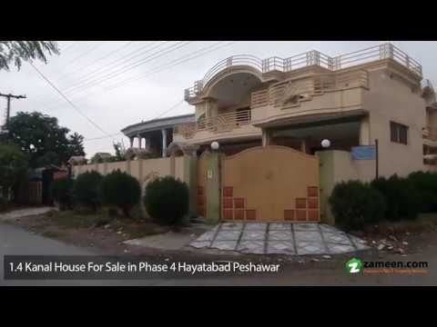 1.4 Kanal HOUSE IS AVAILABLE FOR SALE IN PHASE 4 HAYATABAD PESHAWAR