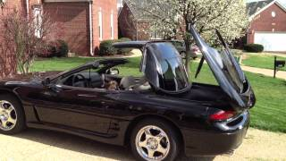 cb taking the top down on the 95 3000gt vr4 twin turbo spyder