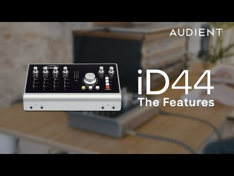 Audient iD44 - The Features