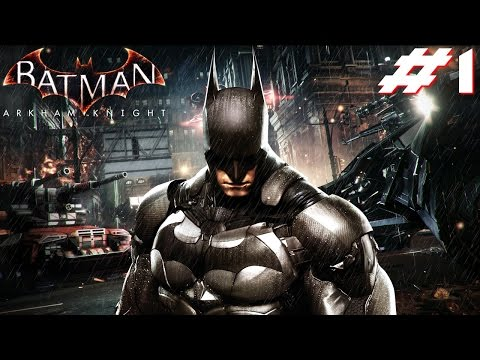 Batman Arkham Knight PS4 Gameplay #1 [Arkham Knight GIVEAWAY](CLOSED)