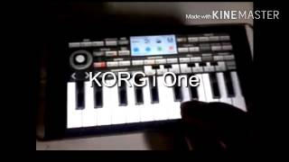 KORG i One for Android bermain organ via android (parodi)