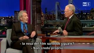 David Letterman - Ian McKellen (sub ITA)