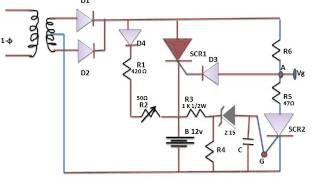 BATTERY CHARGER CAPACITY CIRCUIT(EXPLANATION)