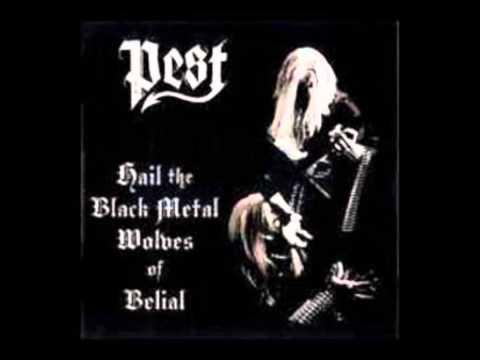 Pest (Fin)-Hail the black metal wolves of Belial-(2003 full album)