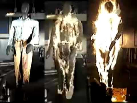 11c51506471d Nomex Coverall test in Fire - YouTube