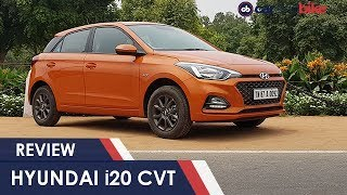 Hyundai i20 Facelift CVT Automatic Gearbox Review | NDTV carandbike