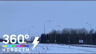 Посадка самолета рейсом Сургут - Москва после нештатной ситуации попала на видео