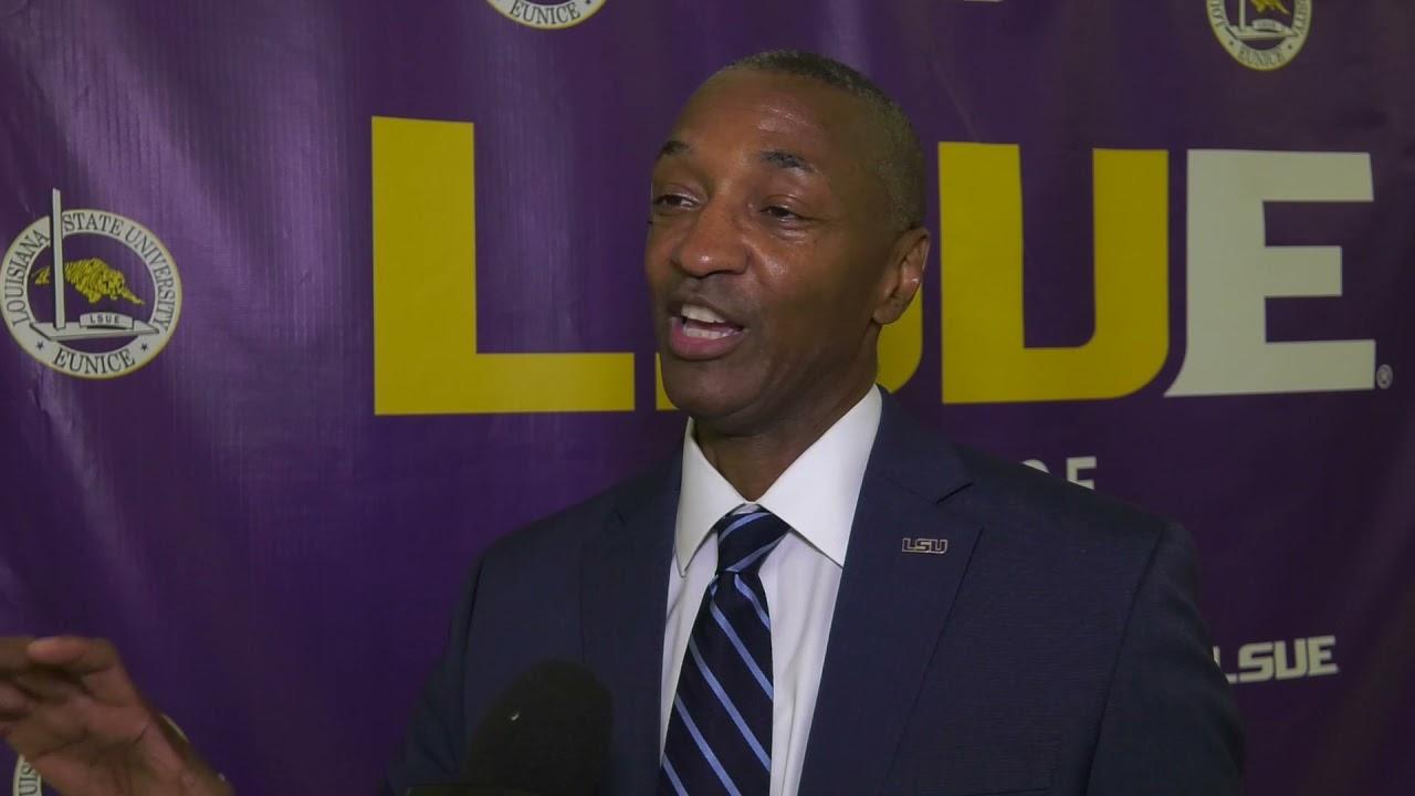 LSU President Dr. William Tate Visits LSU Eunice Campus