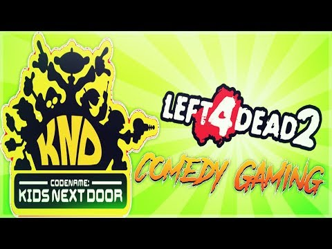 Left 4 Dead 2 -  Codename: Kids Next Door Edition -  Death Mountain - Comedy Gaming