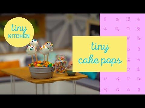 Tiny Cake Pops   Tiny Kitchen
