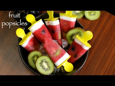 popsicle recipe | fruit popsicles recipe | homemade ice pop recipe