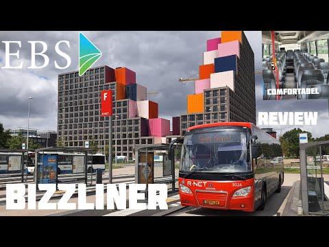 EBS BIZZLINER review van AMSTERDAM naar het WATERLAND | VLOG | #busleven