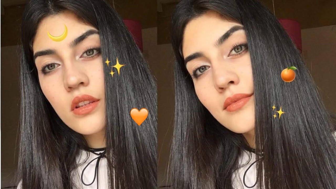 natural tumblr peachy makeup tutorial | camuartist