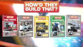 How'd They Build That? Award Winning Truck Videos for Kids on DVD