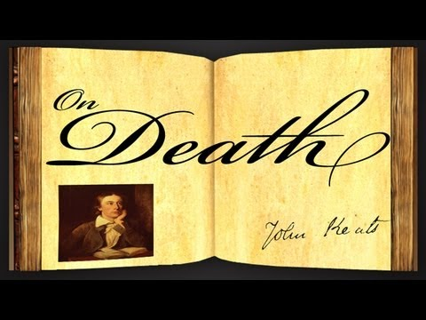On Death by John Keats - Poetry Reading