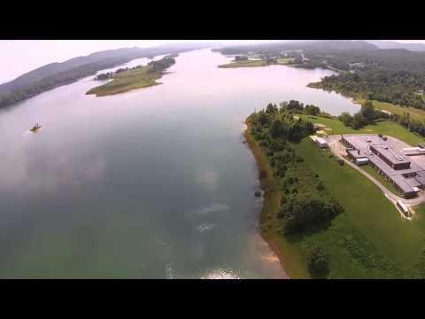 Bean Station Elementary School, Cherokee Lake, Tennessee  DJI Phantom 2 Vision+