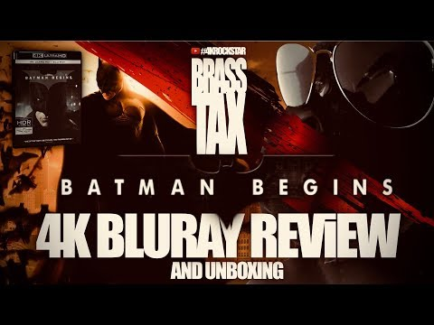 Batman Begins 4K Bluray Review and Unboxing