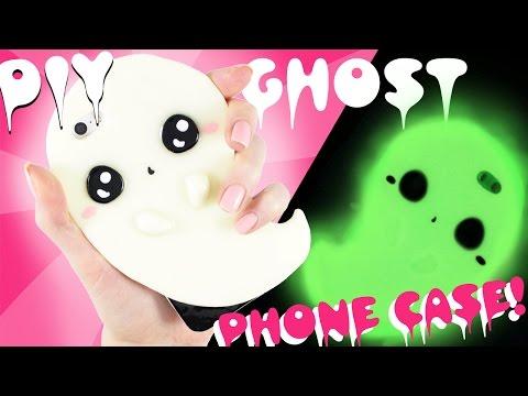 DIY GHOST Phone Case - GLOWS in the DARK!