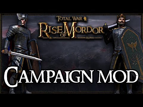 NEW LORD OF THE RINGS CAMPAIGN! - Total War: Rise Of Mordor Gameplay #1