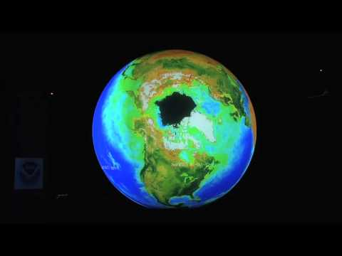 Science On a Sphere Earth System Overview