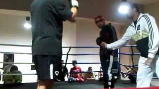 Sherouk Kickboxing - Adam vs Islam.3GP