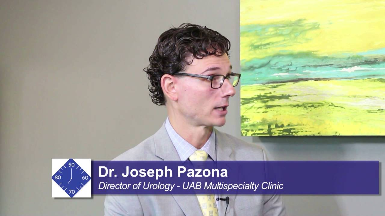Be Our Guest: Dr  Joseph Pazona, Dir  of Urology, UAB Multispecialty Clinic