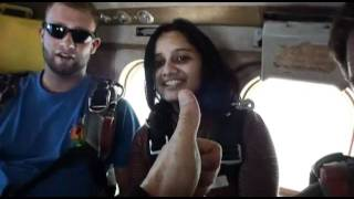 Sarika Patel SKYDIVES!!