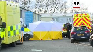 Police extend Salisbury investigation to industrial estate