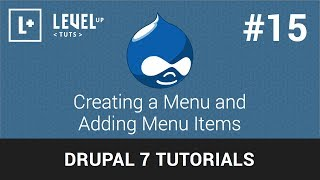 Drupal Tutorials  #15 - Creating a Menu and Adding Menu Items