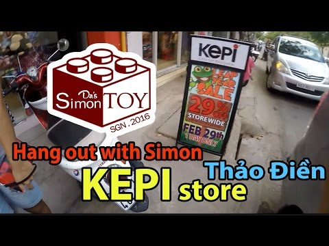 [ Hangout with Simon ] | Lost in District 2 | Lạc tới KEPI Thảo Điền | DasSimon