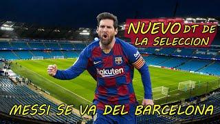 Messi se va del fc barcelona ...