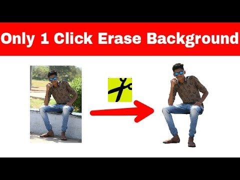 Best 1click Background Eraser App For Android ( Use for Editing)