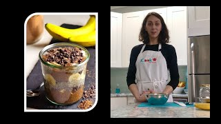 Cooking at Home with iCook - Chia Pudding