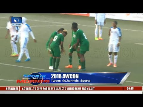Super Falcons Arrive In Ghana | Sports This Morning |