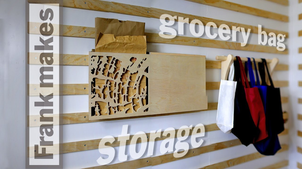 Incroyable The Pantry Part 2: Grocery Bag Storage