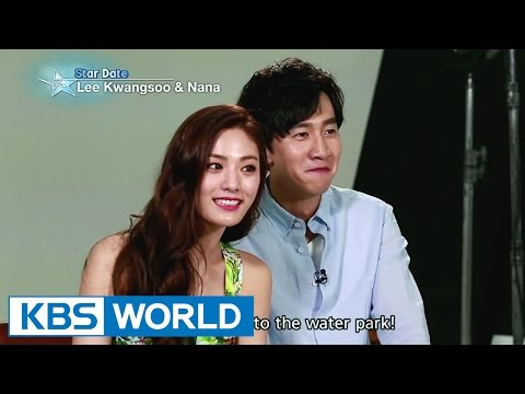Hot couple Lee Kwangsoo and Nana (Entertainment Weekly / 2015.06.26)
