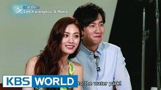 Hot couple Lee Kwangsoo and Nana (Entertainment Weekly / 2015.06.26)