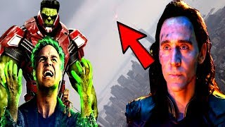Loki Is ALIVE!? Loki Is POSING As Bruce Banner HULK?  - Avengers 4