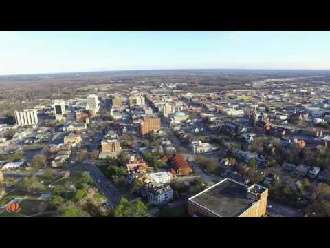Macon, Georgia from Above