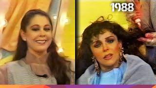 """Verónica Castro e Isabel Pantoja - """"Chabela la colorista"""" Sketch de  Mala Noche No! - 1988"""
