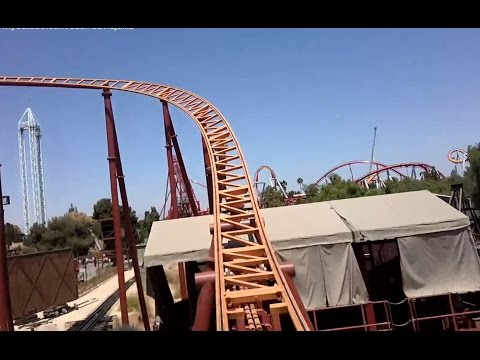 Pony Express (Front Row HD POV) - Knott's Berry Farm